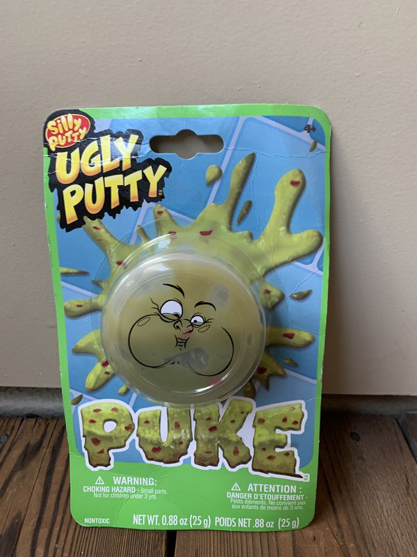 Silly putty ugly putty puke slime ( NEW