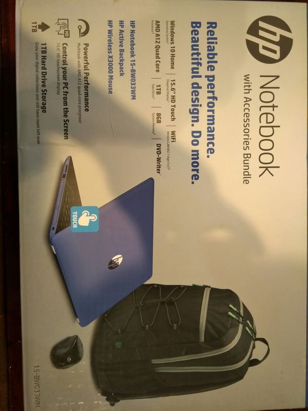 Brand new Hp Notebook 15 Touch Screen 2018 Version