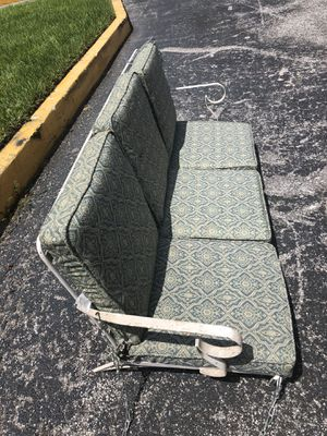 Porch Swing - Wrought Iron 3 Seat for Sale in Wekiva Springs, FL