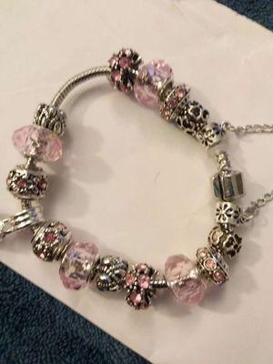 Pandora style charm bracelet for Sale in Wichita, KS