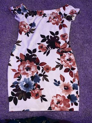 Blue and pink flower pattern dress for Sale in NJ, US