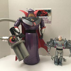 "Toy Story Emperor Zurg Figure & Buzz Lightyear Figure (15""/7 1/2"") for Sale in Miami, FL"