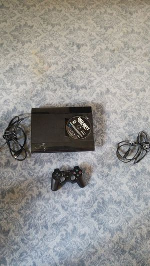 Sony Playstation 3 Super Slim  And game for Sale in Lexington, KY