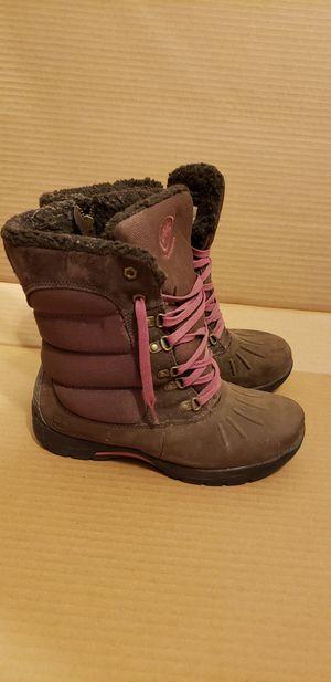 Timberland Girls Size 4.5 ' MALLARD TALL WATERPROOF WINTER Boots Brown 33923 for Sale in Washington, DC