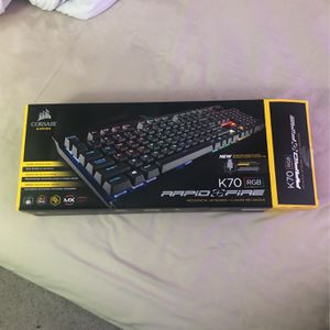 Corsair K70 Gaming Keyboard for Sale in East Wenatchee, WA