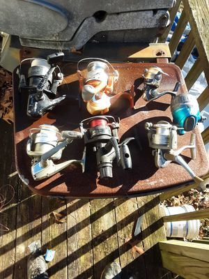 Fishing Reels,Rods,& Tackle for Sale in Canton, GA