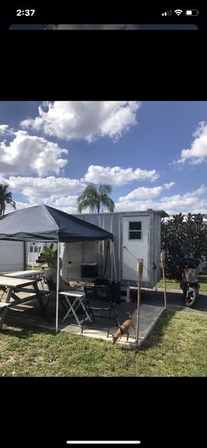Trailer closet for Rv or travel 1050 lbs no title needed for Sale in Gulf Breeze, FL