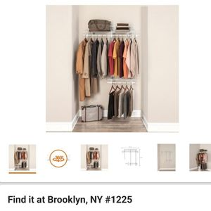 Closet shelving system for Sale in Brooklyn, NY