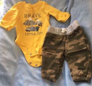 Baby boy set (2pcs) 👶🏼👖👕 for Sale in Lake Forest, CA