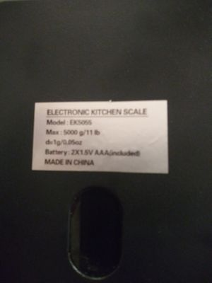 Electronic kitchen scale for Sale in Wichita, KS