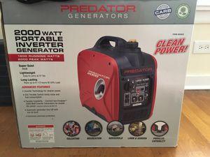 Predator Generator in box used 2 times for Sale in Chicago, IL