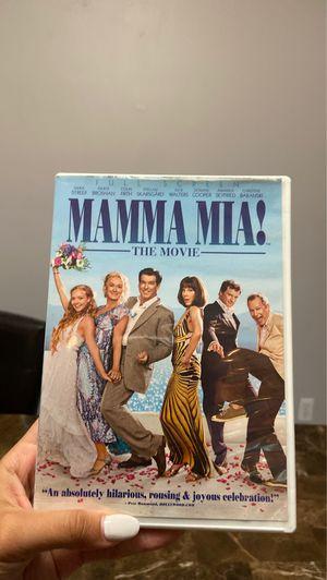 Mamma Mia the movie dvd for Sale in Pembroke Pines, FL