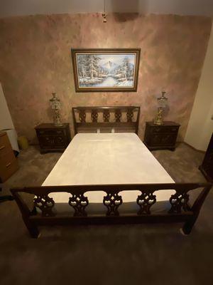 ETHAN ALLEN QUEEN BEDROOM SET for Sale in Romeoville, IL