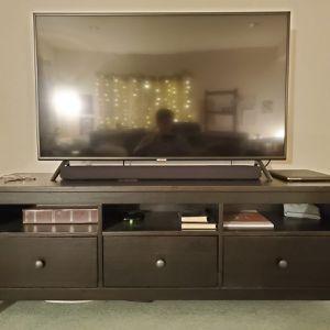 Ikea Black/brown Hemnes Tv Stand Console for Sale in Seattle, WA