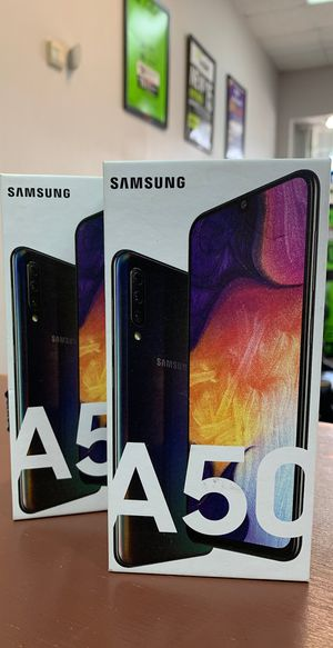 Factory Unlocked Samsung Galaxy A50, 32gb, Brand New in Box! for Sale in Arlington, TX