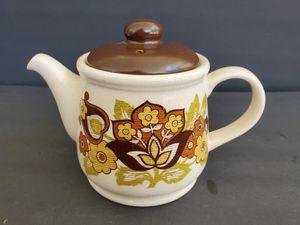 Retro Stadler Floral Ironstone Teapot for Sale in Midland, MI