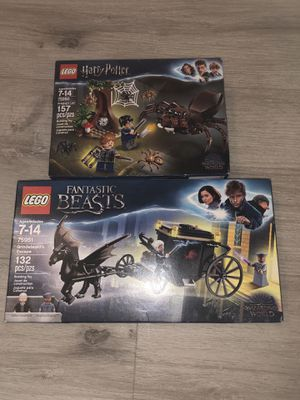 (2) NEW LEGO SETS (HARRY POTTER 75950&FANTASTIC BEASTS 75951) for Sale in Las Vegas, NV