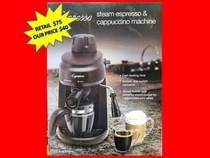 Capresso Steam Espresso & Cappuccino Machine NEW for Sale in Plantation, FL
