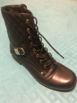Black lace up boots by Guess for Sale in Frederick, MD