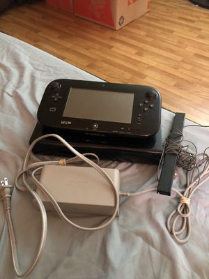 Nintendo Wii U, BLACK for Sale in San Mateo, CA