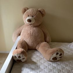 Big Plush Giant Teddy Bear Premium Soft Stuffed Animals Light Brown,56 Inches for Sale in Lake Oswego,  OR