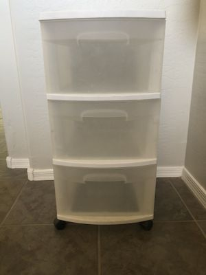 Sterilite 3 drawer cart storage for Sale in Gilbert, AZ