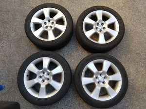 Toyota Matrix XRS 17x7 +45 wheels with Michelin Tires for Sale in Fresno, CA