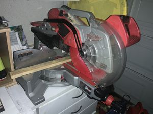 """Milwaukee 12"""" Compound Miter for Sale in Tracy, CA"""