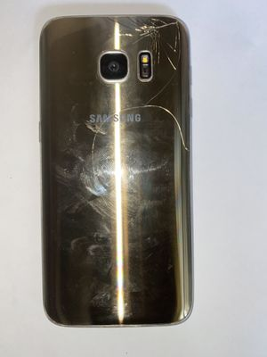 CRACKED BACK UNLOCKED SAMSUNG GALAXY S7 32GB ANY SIM WORKS for Sale in Baltimore, MD
