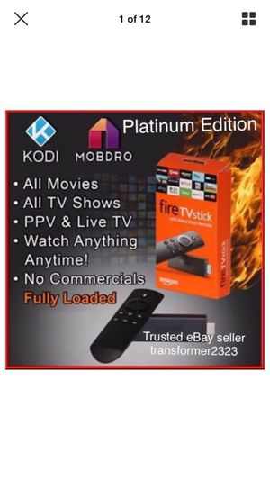 Amazon firestick hacked Netflix ppv hbo & more! for Sale in Chula Vista, CA