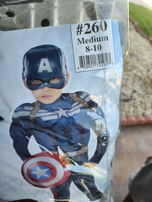 Captain America Costume for Sale in Moreno Valley, CA