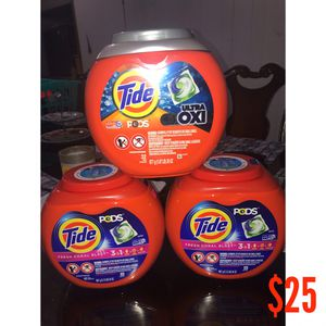 Tide 42 Pods for Sale in Pasadena, TX