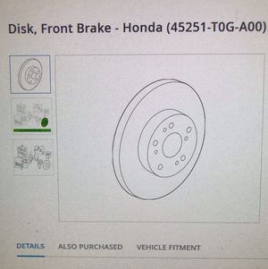 Original Honda whole sale price, any part number for Honda OEM for Sale in Falls Church, VA