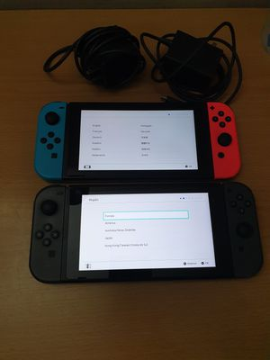 2 nintendo switches for Sale in Edison, NJ