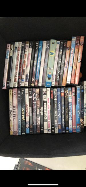 Tons of DVDs with DVD player for Sale in North Miami, FL