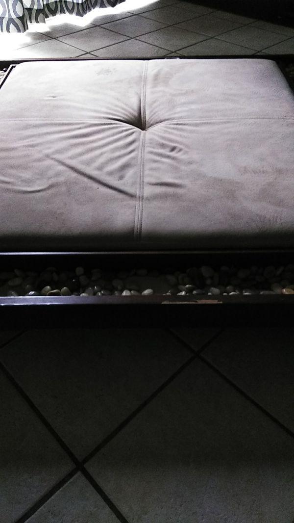 Used meditation block- indoor/outdoor patio furniture