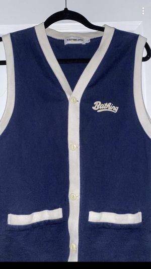 Rare Vintage Bape Vest Size Medium for Sale in Herndon, VA