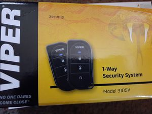 Viper 1-Way Security System. 3105V for Sale in Chula Vista, CA