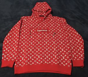 Louis Vuitton X Supreme Box logo hoodie for Sale in Bowie, MD