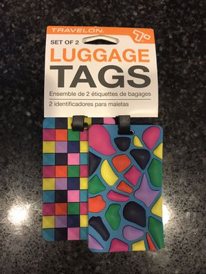 Set of 2 Luggage Tags for Sale in Riverside, CA