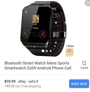 Bluetooth Smartphone Watch Brand New for Sale in San Antonio, TX