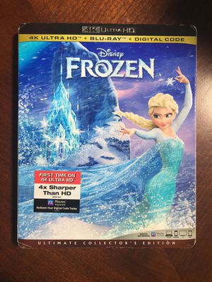 Disney Frozen 4K Blu-ray movie for Sale in Las Vegas, NV