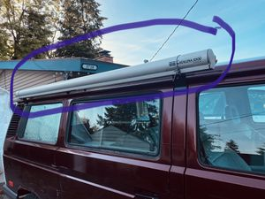 Catalina 2500 awning ( van not for sale) for Sale in Seattle, WA