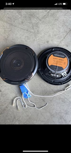 New Kenwood car speakers KFC-651 6.5 inches for Sale in Irvine, CA