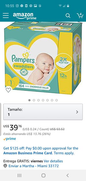 Pampers swaddlers for Sale in San Diego, CA