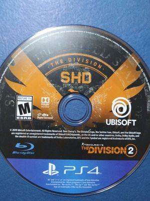 Division 2 - PS4 for Sale in Fircrest, WA