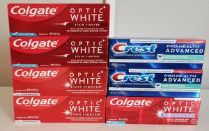 7 Toothpaste bundle for Sale in Rancho Cucamonga, CA