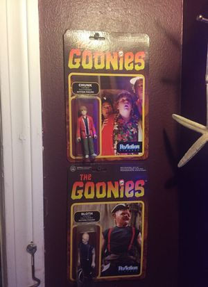 Sloth & Chunk Action Figures for Sale in Ferndale, MI