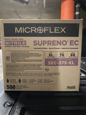 Microflex boxe a gloves is 10 boxes inside for Sale in Glendale, CA