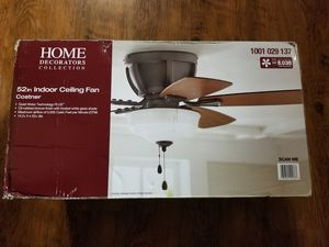 Home Decorations large/great room fan. for Sale in Schertz, TX